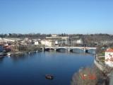 River Vltava ..