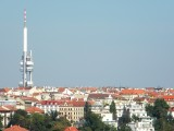 Transmitter with tower in Zizkov ..