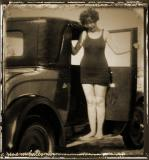 my great aunt--holga action test