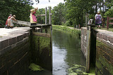 C & O Canal: Opening the Lock