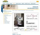 Louvre exhibit notice