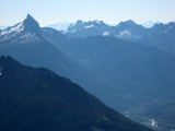 Sloan and Monte Cristo Peaks