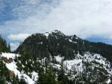 Towards Peak from Road