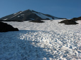 Snowfield at 8300'