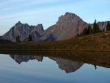 Border Peaks Reflection