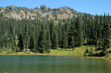 Sheep Lake and Ridgeline