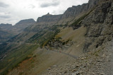 Road to Logan Pass and Garden Wall