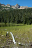 Lake and Ridge Above