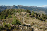 Hiker Starting to Descend