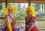 Two pretty clowns