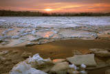 The ice river