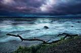 Stormy evening, Lake Mendota