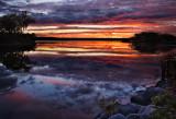 Sunset, Lake Wingra