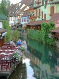 Cafe on the Water, Colmar
