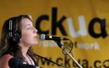 2010_08_06 CKUA Tent at the Folk Festival