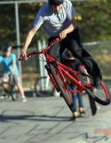 2010_09_30 Bikes in Skateboard Park