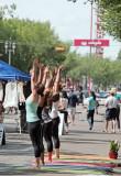 2010_07_11 Yoga Demonstration