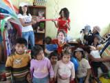 WawaWasi Children and Volunteers