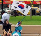 2011_01_21 Korean Drums meet Lima Bureaucracy at Parque Miraflores Anfiteatro