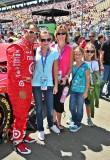 Juan Montoya and a sponsor's family members.  IMG_0059.jpg