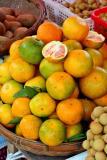 Fruit at the local Jishou University campus .