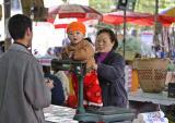 I weigh how much?  Jishou City, Hunan Province, China