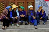 Elder women in Dali China talking about? .jpg