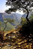 Overlooking Dehang Village, Hunan Province, China