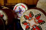 Drums used in the drum ceremony.