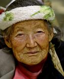 Tujia Elder, Zhangjiajie Forest Park, Hunan Province, China