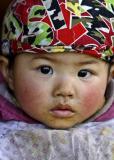 Miao baby, Panzhai, Guizhou Province, China
