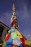 Prayer flags, Lhasa.