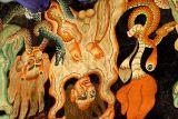 Wall paintings, Nechung monastary, Lhasa
