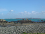 Island of Herm (In the distance)