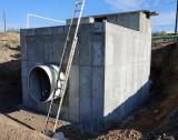 Influent Meter Vault #1  9/5/09