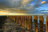 Province of Zeeland - sky and sea HDR