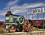 The Rumley Oil Pull Tractor