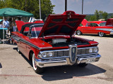 1959 Edsel with a 1957 Chevrolet Bel Air in the background