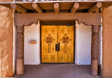 Main Entrance to San Geronimo Church
