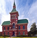 Tate County Courthouse at Senatobia, MS