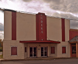 This once proud theater in Tunica MS is now closed.