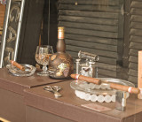 A cigar store display