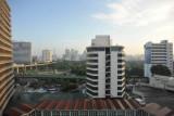 Dusit Thani Hotel View when it's not raining