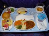Singapore Airlines Dinner
