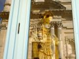 reflections on te shop-window