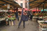 Francine, at market