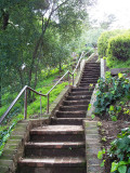 Secret stairway to Coit Tower