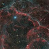 Supernova remnant in Vela