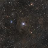 NGC7023 - Iris Nebula in Cepheus