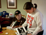 Susan Ryan and father Howard Skip Kaltenbach (photo Tom Morrison)